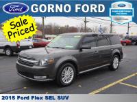 2015 FORD FLEX SEL. VOICE ACTIVATED NAVIGATION,CLASS