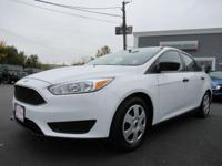 2015 Ford Focus S Oxford White FWD **NEW TIRES**, **NEW