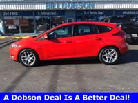 New Price! 2015 Race Red Ford Focus SE 6-Speed