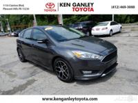 2015 Ford Focus SE CARFAX One-Owner. Focus SE, 4D