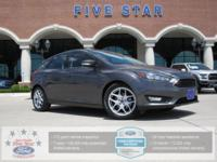 2015 Ford Focus SE Magnetic FORD Certified. Clean