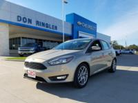 5 speed! Gasoline! This good-looking 2015 Ford Focus is