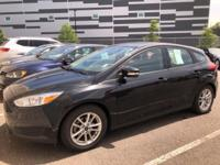 CARFAX One-Owner. Clean CARFAX. Black 2015 Ford Focus