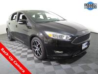 2015 Ford Focus SE Hatchback with a 2.0L Engine. Cloth