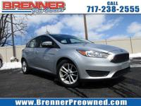 Come see this 2015 Ford Focus SE. Its transmission and