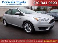 PREMIUM & KEY FEATURES ON THIS 2015 Ford Focus include,