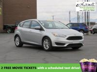 CarFax 1-Owner, This 2015 Ford Focus SE will sell fast