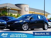 2015 Ford Focus in Black. Ready to roll! Right car!