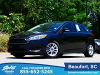 2015 Ford Focus in Black. Low miles mean barely used.