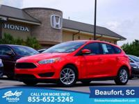 2015 Ford Focus in Red. Limited supply. This one's