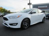 New Price! 2015 Ford Focus SE Oxford White FWD **NEW