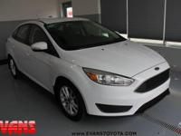 Oxford White 2015 Ford Focus SE FWD 6-Speed Automatic