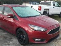 Ruby Red Metallic Tinted Clearcoat 2015 Ford Focus SE