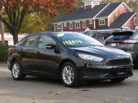 CARFAX One-Owner.Black 2015 Ford Focus SE 4D Sedan FWD
