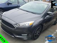 CARFAX One-Owner. 2015 Ford Focus SE Magnetic EcoBoost