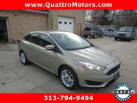 Come see this 2015 Ford Focus SE. Its Automatic