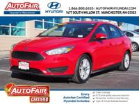 Certified. CARFAX One-Owner. Clean CARFAX. Red 2015