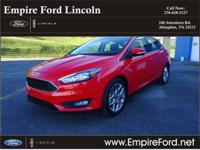 Options:  2015 Ford Focus Se|Se 4Dr Sedan|2.0L|4