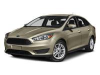 2015 Ford Focus SE 2.0L 4-Cylinder DGI DOHC RedClean