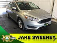 Our 2015 Ford Focus SE Sedan in Beige offers impressive