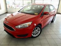 Race Red 2015 Ford Focus SE FWD 6-Speed Automatic with