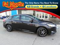 New Price! 2015 Ford Focus SE Ingot Silver CARFAX