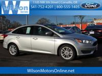 Outstanding design defines the 2015 Ford Focus! This