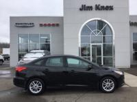 New Price! 2015 Ford Focus SE Black FWD 2.0L 4-Cylinder
