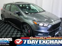 **LEATHER, MOONROOF, NAVIGATION, ST3** 2015 Focus