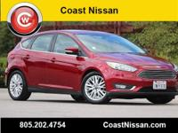 CARFAX One-Owner. Magnetic 2015 Ford Focus Titanium FWD