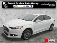 This one owner 2015 Ford Fusion Titanium comes equipped