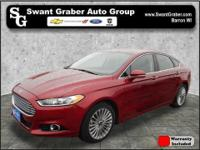 This one owner, 2015 Ford Fusion comes equipped with