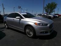 Grand and graceful, this 2015 Ford Fusion banished all
