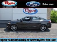 FORD CERTIFIED! LOADED TITANIUM INCLUDING MOONROOF AND