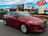 This 2015 Ford Fusion Energi SE Luxury is offered to