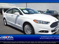 CarFax One Owner! This Ford Fusion Energi is CERTIFIED!