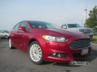 The 2015 Ford Fusion Energi is a five-passenger plug-in