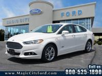 Treat yourself to this 2015 Ford Fusion Energi
