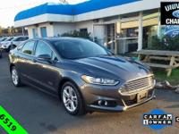 CARFAX One-Owner. Clean CARFAX. 2015 Ford Fusion Energi