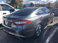 CARFAX One-Owner. Gray 2015 Ford Fusion Energi Titanium