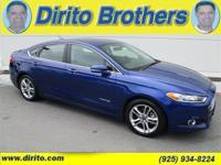 The Titanium Hybrid Ford Fusion is a great value and