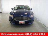 CARFAX One-Owner. Deep Impact Blue 2015 Ford Fusion S