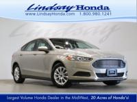 OVERVIEW This 2015 Ford Fusion 4dr 4dr Sedan S FWD