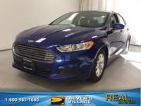 New Price! Deep Impact Blue 2015 Ford Fusion S FWD