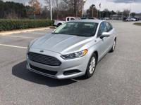 2015 Ford Fusion S FWD 6-Speed Automatic 2.5L iVCT