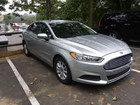 Options:  2015 Ford Fusion S|Ingot Silver|Carfax