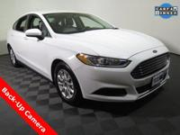 2015 Ford Fusion S with a 2.5L Engine. Cloth Interior,