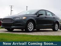 2015 Ford Fusion S in Guard, This Fusion comes with