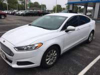 CARFAX One-Owner. Clean CARFAX. White 2015 Ford Fusion