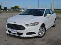 This stylish, one owner Ford Fusion SE FWD Sedan comes